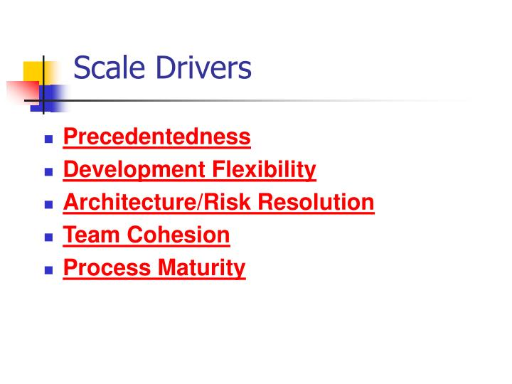 Scale Drivers