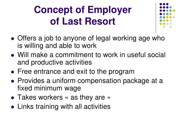 Concept of Employer