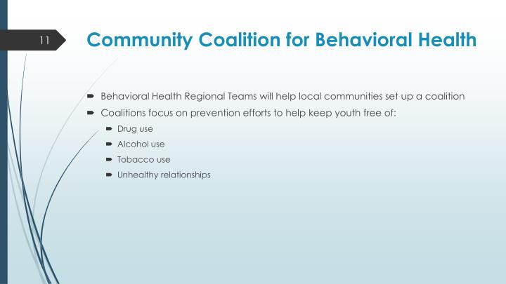 Community Coalition for Behavioral Health