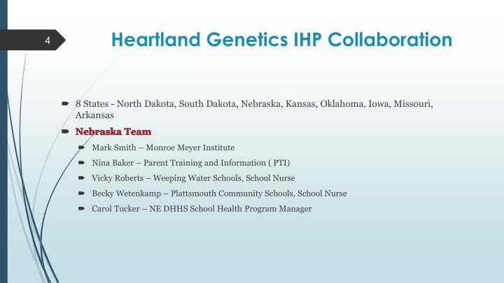 Heartland Genetics IHP Collaboration