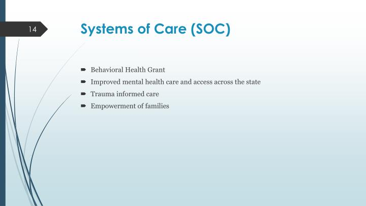 Systems of Care (SOC)