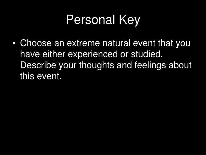 Personal Key
