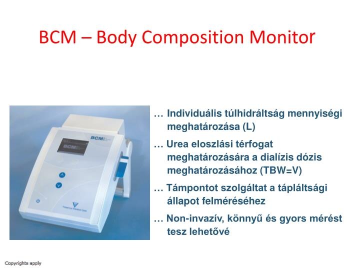 BCM – Body Composition Monito