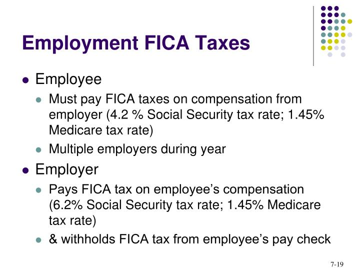 Employment FICA Taxes