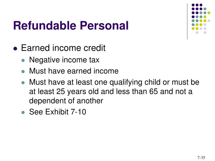 Refundable Personal