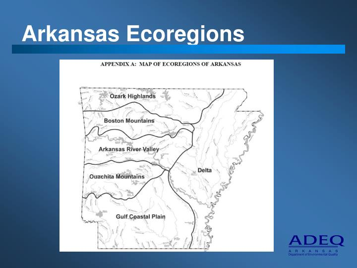 Arkansas Ecoregions