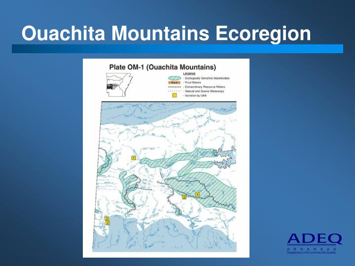 Ouachita Mountains Ecoregion