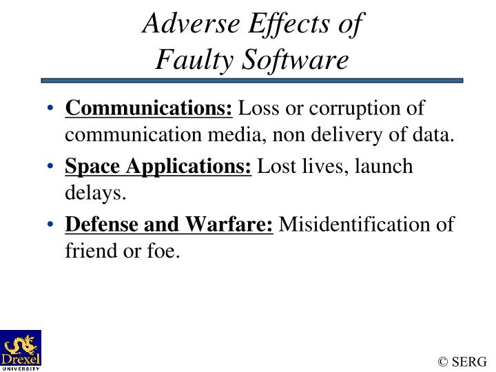 Adverse Effects of
