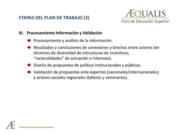 ETAPAS DEL PLAN DE TRABAJO (2)