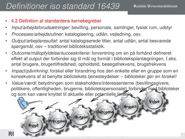 Definitioner iso standard 16439