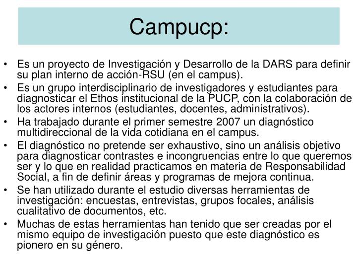 Campucp: