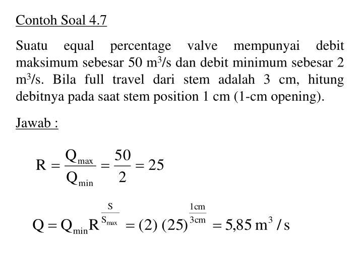 Contoh Soal 4.7
