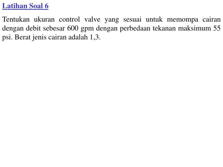 Latihan Soal 6