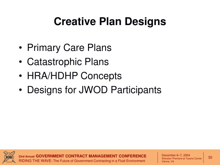 Creative Plan Designs
