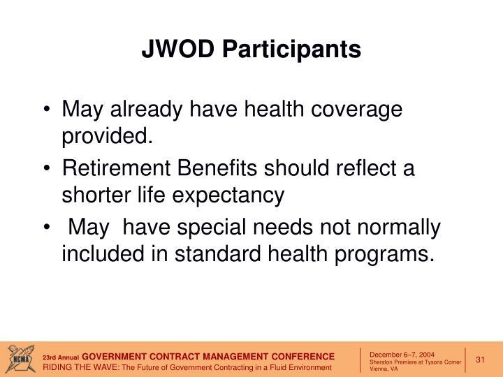 JWOD Participants