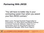 partnering with jwod