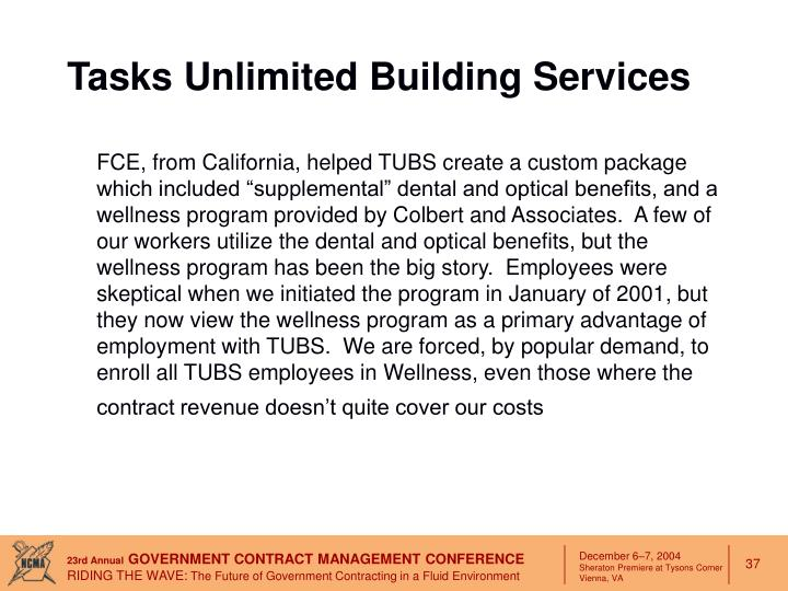 Tasks Unlimited Building Services