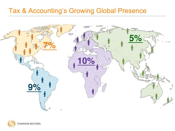 Tax & Accounting's Growing Global Presence