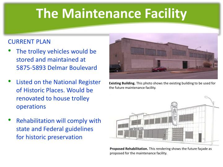 The Maintenance Facility
