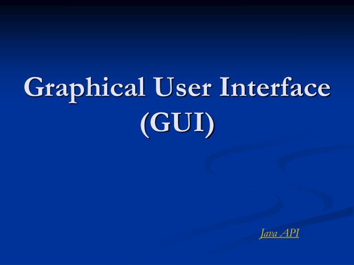 Chapter 9: creating user interfaces - english