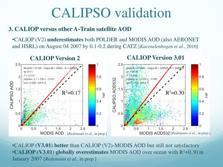 CALIPSO validation