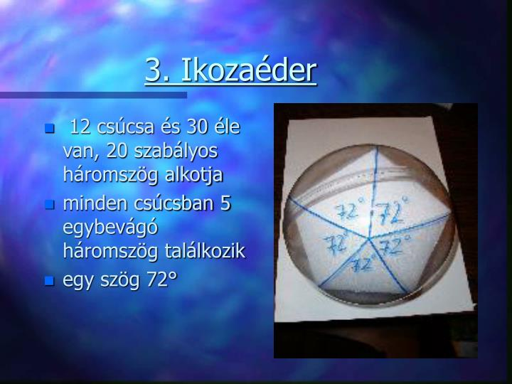 3. Ikozaéder