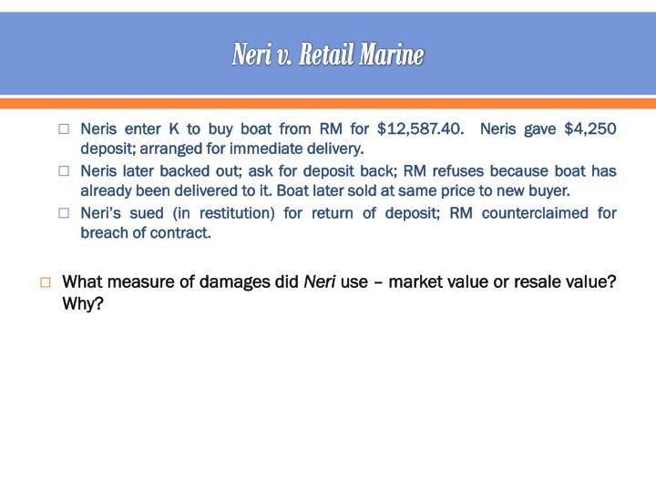 Neri v. Retail Marine