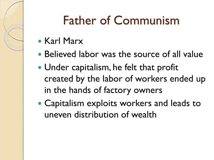 Father of Communism