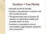 socialism free market