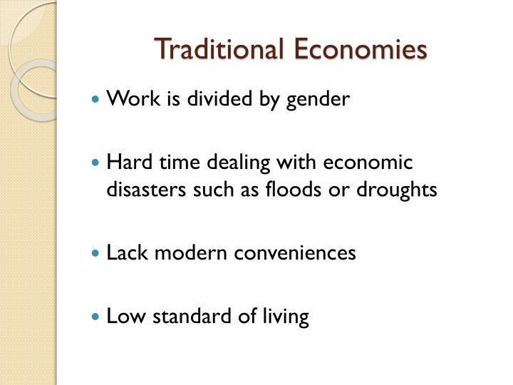 Traditional Economies