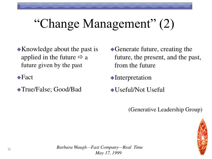 """Change Management"" (2)"