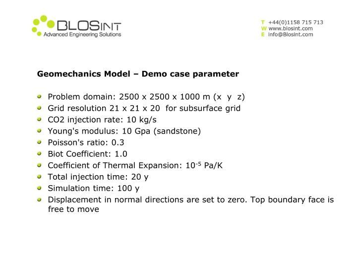 Geomechanics