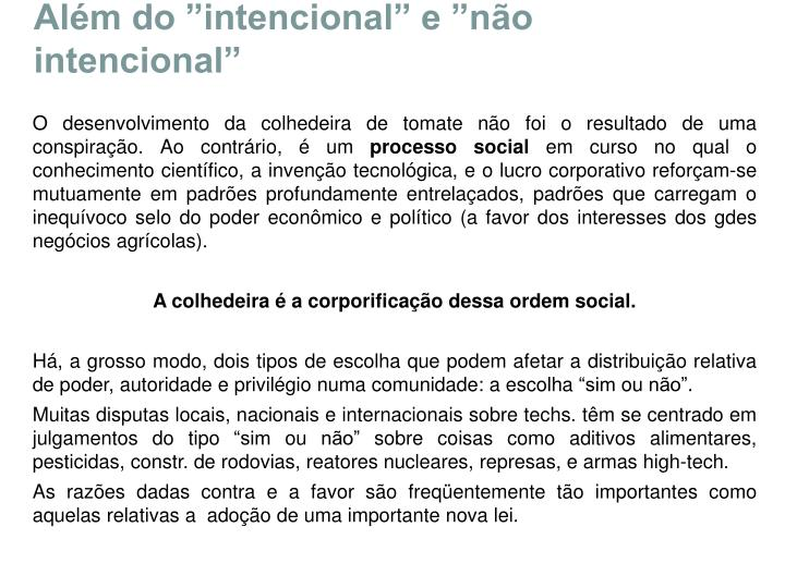 """Além do """"intencional"""" e """"não intencional"""""""