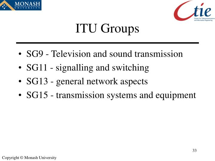 ITU Groups
