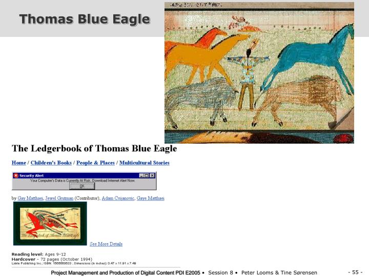 Thomas Blue Eagle