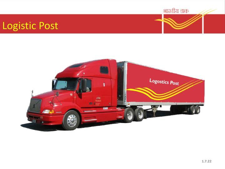 Logistic Post