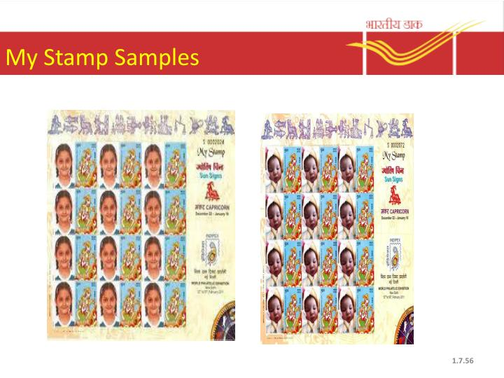 My Stamp Samples