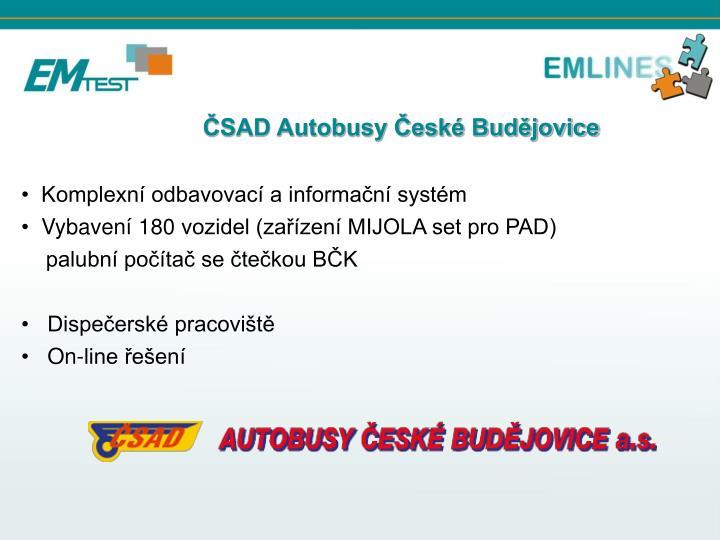 ČSAD Autobusy České Budějovice