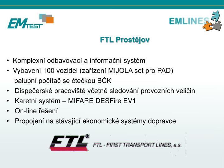 FTL Prostějov