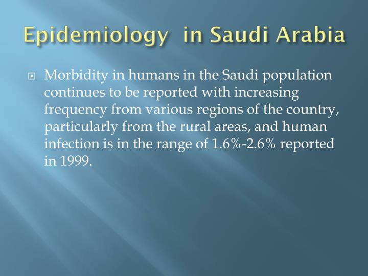 Epidemiology  in