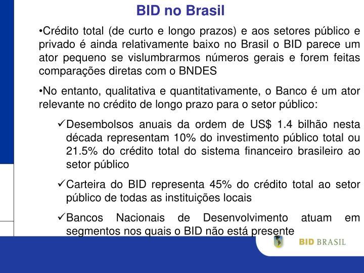 BID no Brasil