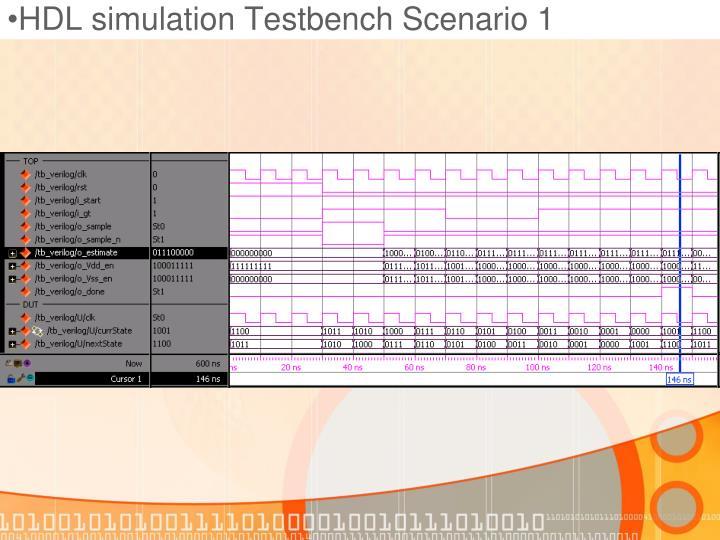 HDL simulation