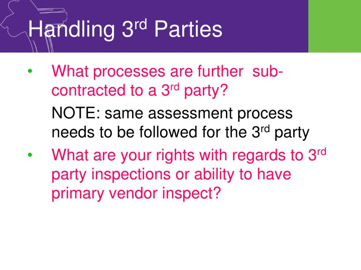 Handling 3