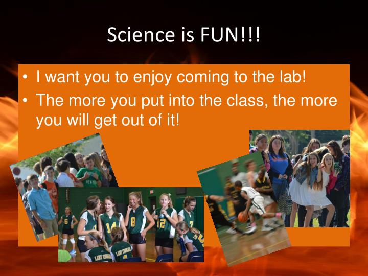 Science is FUN!!!