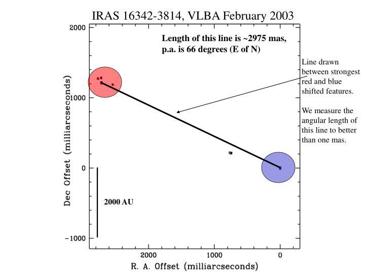 IRAS 16342-3814, VLBA February 2003