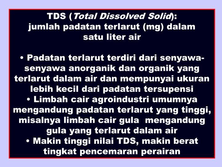 TDS (