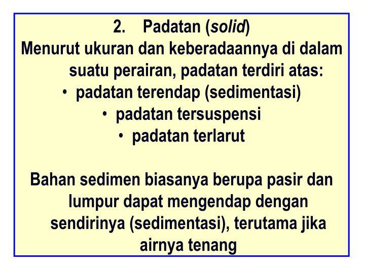 Padatan (