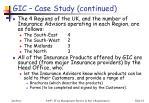 gic case study continued