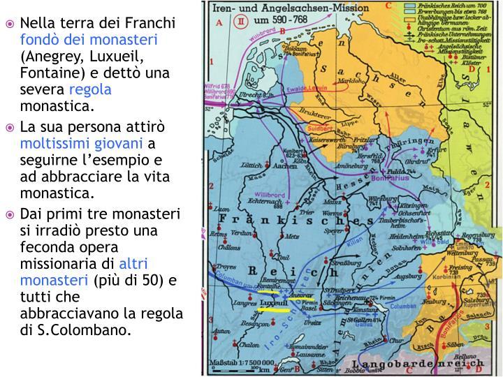 Nella terra dei Franchi