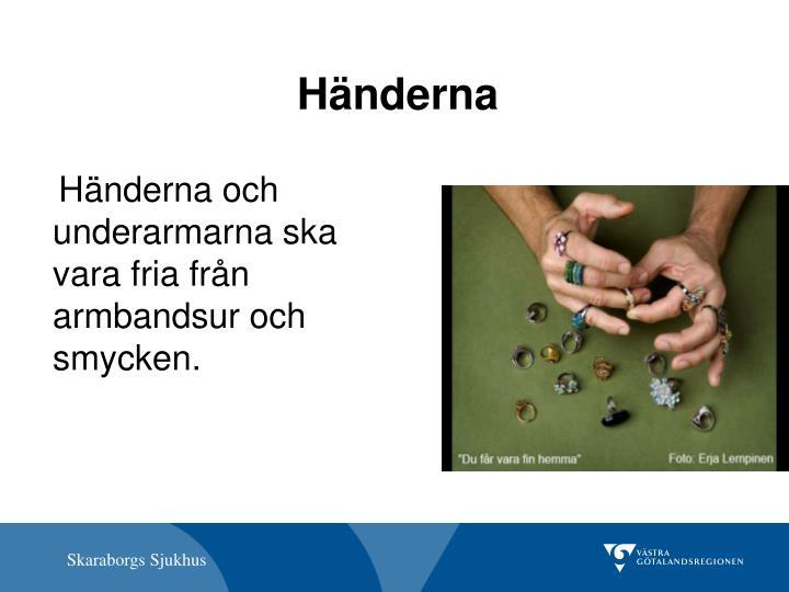Händerna
